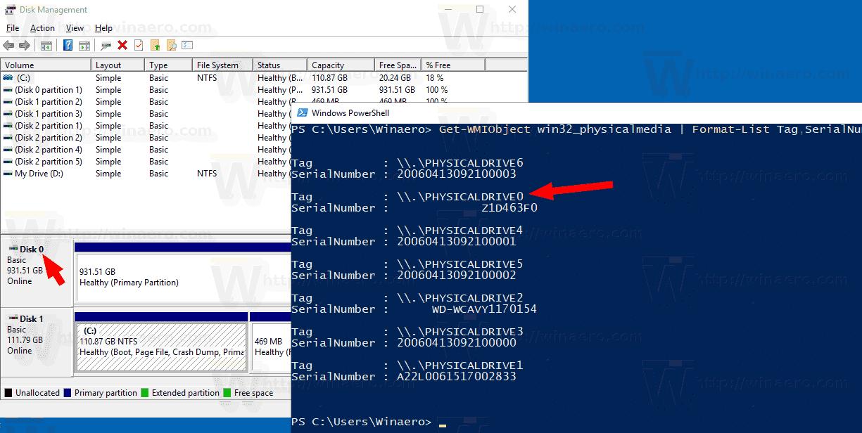 Find Windows 10 Serial Number - drumdom