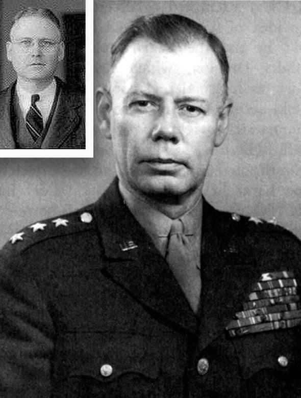 Il memo è stato quello di Generale Walter Bedell Smith da H Marshall Chadwell (nel riquadro).