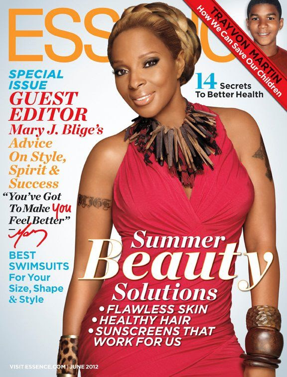 Essence (June 2012), Mary J. Blige