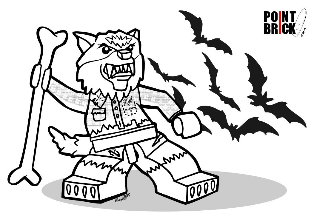 Point Brick Blog Disegni Da Colorare Lego Halloween Monsters