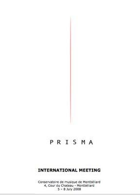Prisma meeting 2008
