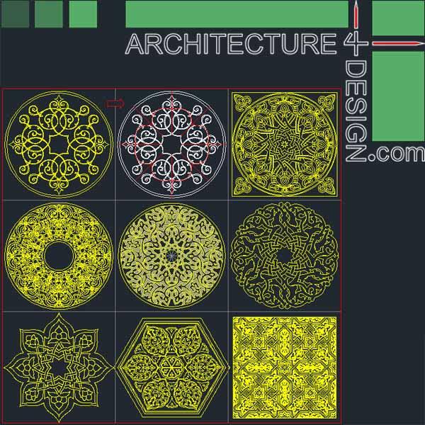 Arches Autocad Blocks Free Download - Autocad
