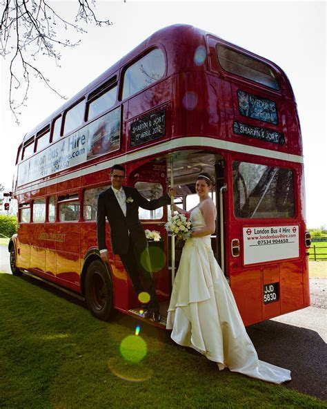 Wedding Hire   London Bus 4 Hire