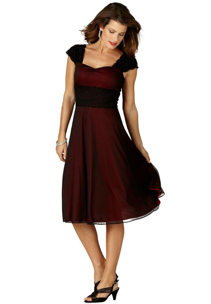 plus length dresses plum