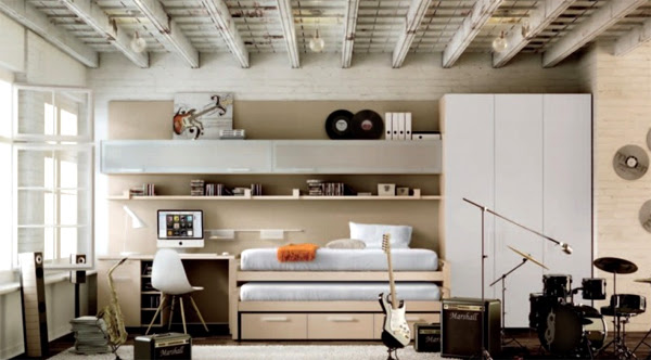 Cool Music Bedroom Ideas