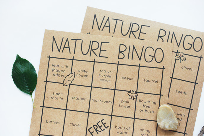 Celebrate the Great Outdoors with Nature Bingo   Handmade Charlotte