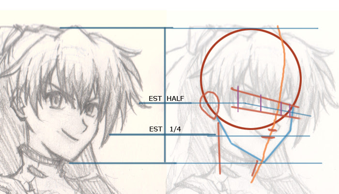 how to draw Asuka