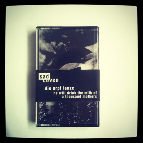 Got a tape out on Sad Coven. Live show from 2011 in O Tannenbaum, Berlin. Cover is by the great Tessa Deceuninck. www.sadcoven.be/ http://tessadeceuninck.com/