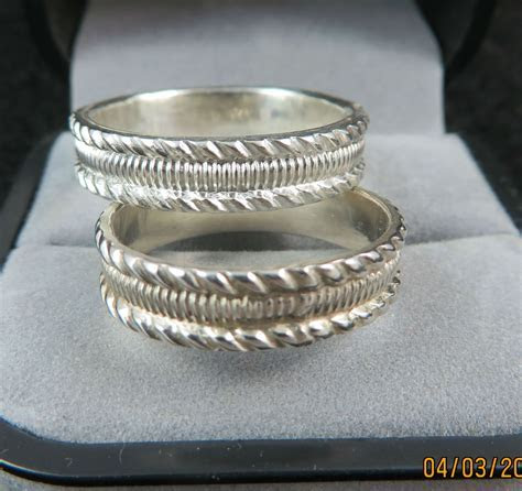 Pin by Kenya Weddings on Silver Wedding Rings   Pinterest