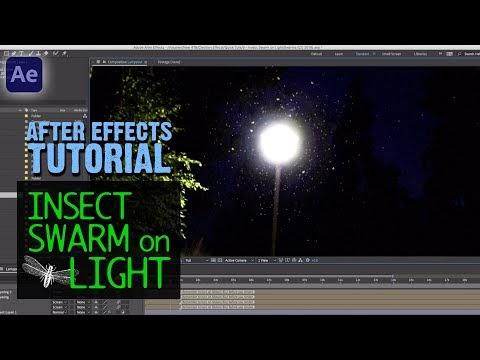 Cara Menggunakan Swarms Di After Effects Untuk Membuat Serangga Terbang Sekitar Cahaya
