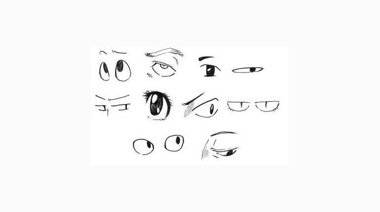 Cómo Lo Hago Cómo Dibujar Ojos Estilo Anime