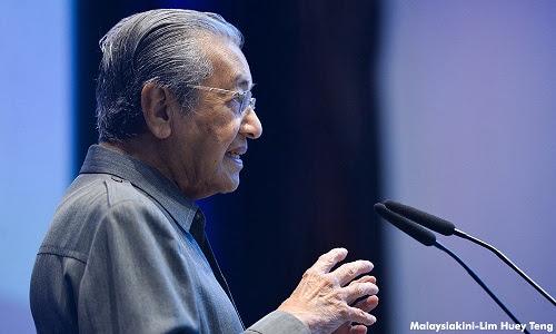 Mahathir sedia ditangkap asalkan Najib tersingkir