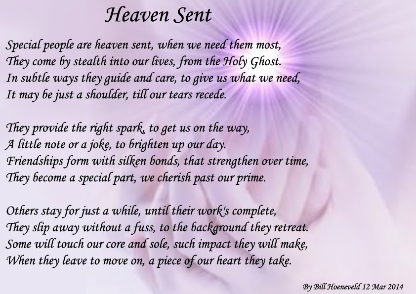 Heaven Sent Spiritual Poetry