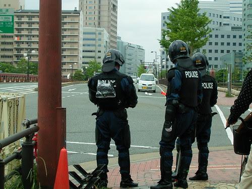Japanese policemen