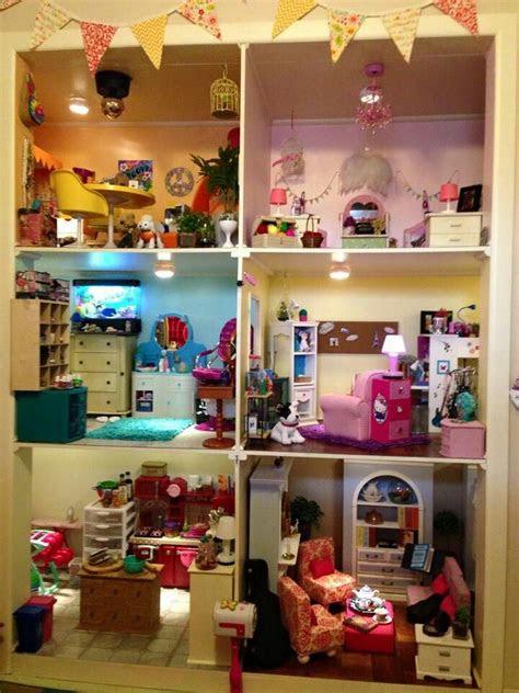american girl dollhouse follow  dolls house ideas
