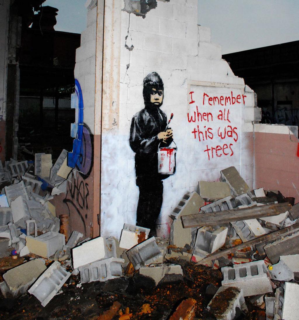 24 eloquentes obras de arte urbana mostrando a desagradável verdade 08
