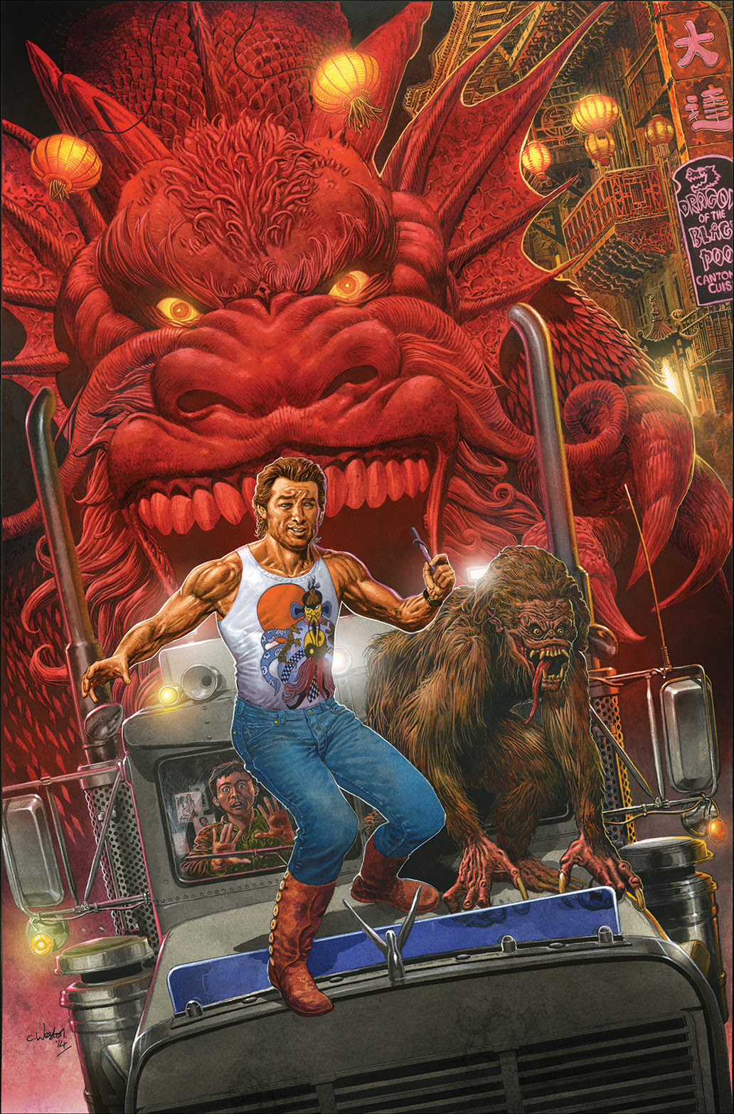 Big Trouble in Little China #1 Cover C