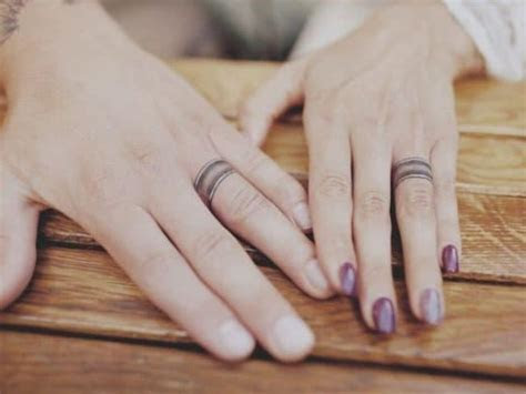 Unique Wedding Ring Tattoos That Will Make You Stand From
