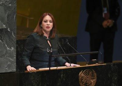 María Fernanda Espinosa Garcés.