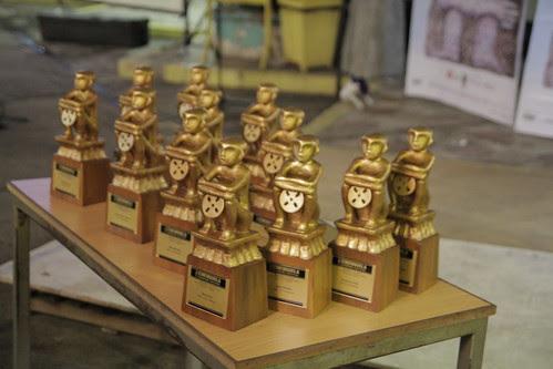 Trophies of Cinemanila