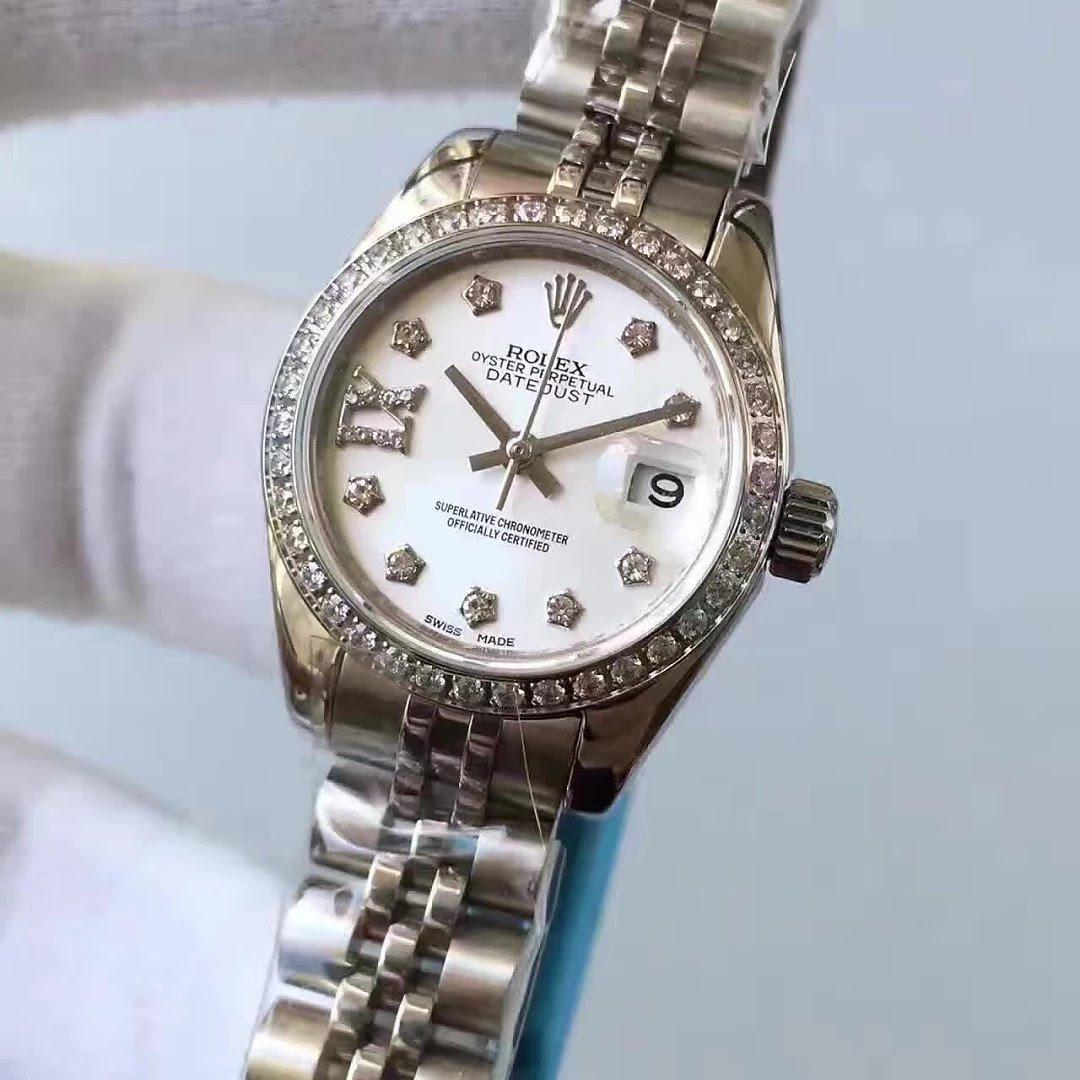 33mm Rolex Datejust MOP Diamond Watch