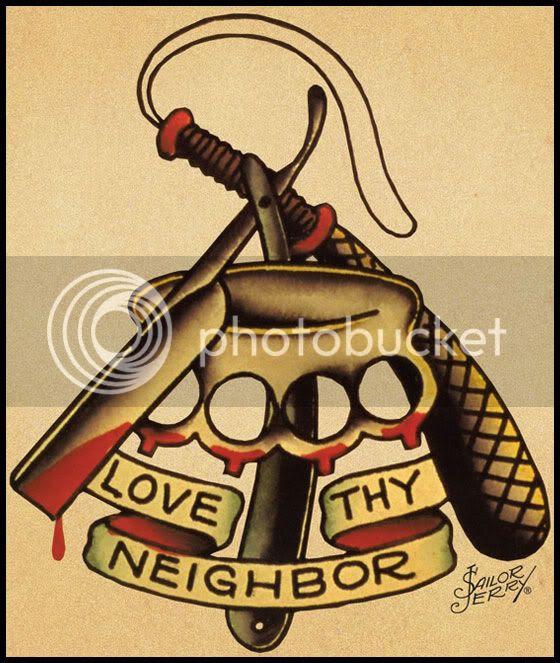sailor jerry love thy neighbor