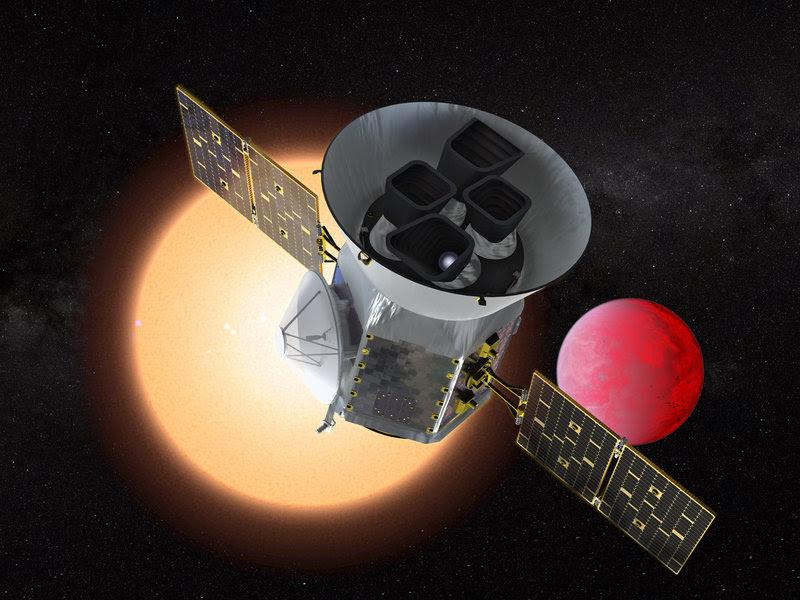 To αμερικανικό διαστημικό τηλεσκόπιο Transiting Exoplanet Survey Satellite