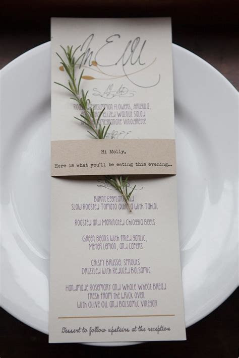Menu ideas/Sit down dinner   Menu ideas   Rustic wedding