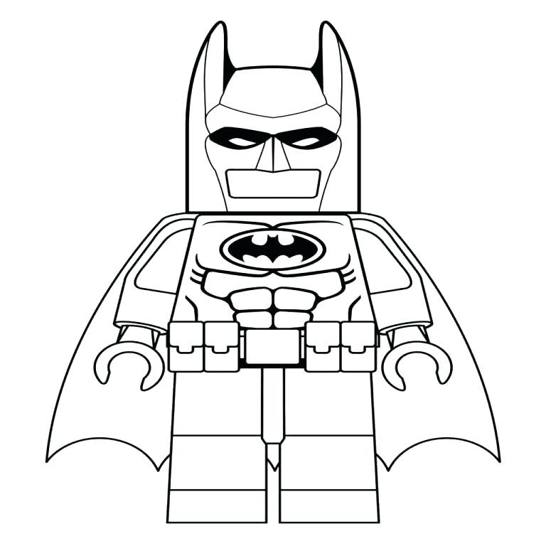 Lego Robin Coloring Pages At Getdrawingscom Free For Personal Use