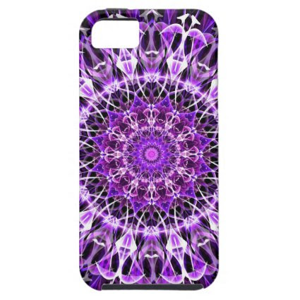 Fly Away Purple kaleidoscope iPhone 5 Case