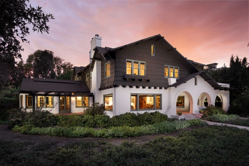 Charming Exterior Paint Colors With Brown Roof Ideas For House