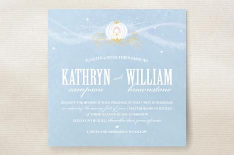 Cinderella Wedding Invitations