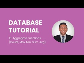 Aggregate Functions in Relational Database