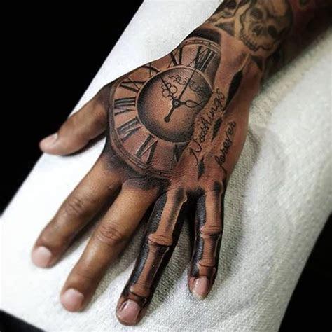 bone hand tattoo hand tattoos men tattoo ideas