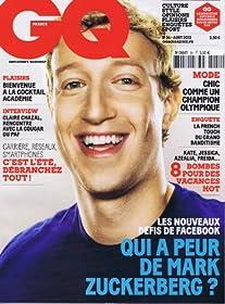 GQ [France] August 2012 (単号)