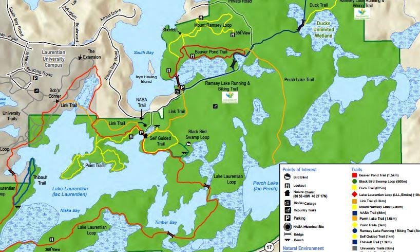 nickel belt trails map