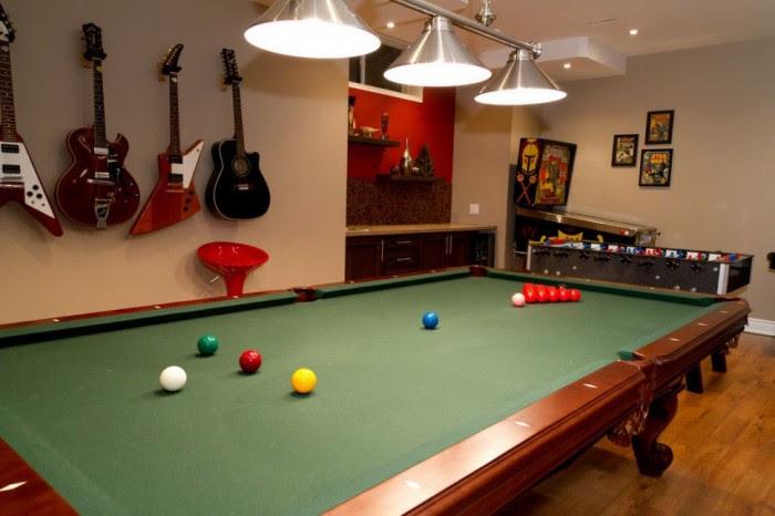 game room basement remodel 4