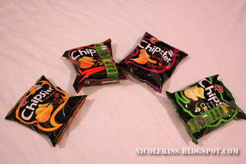 four packs of chipsters