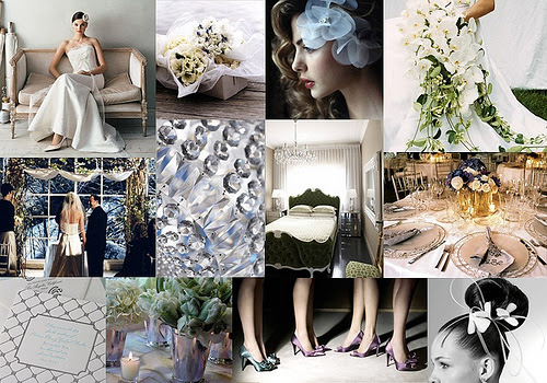 Sometimes the inspiration for a wedding color palette can come from