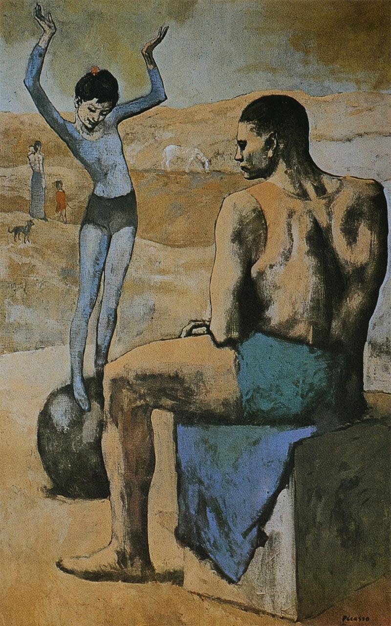 Pablo Picasso - Acróbata y joven equilibrista