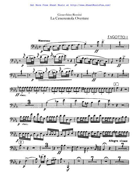 Photo : Free Sheet Music Rossini Gioacchino Tarantella Images