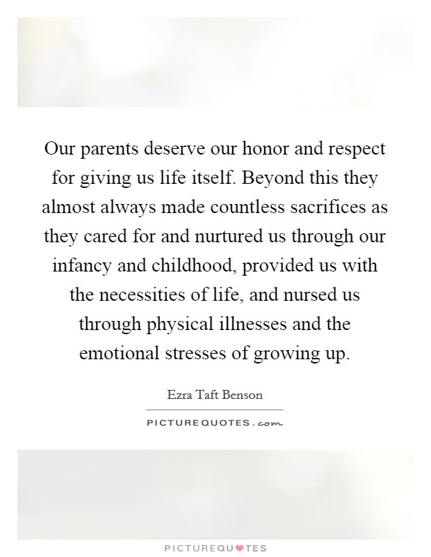 Honoring The Parents Quotes Sayings Honoring The Parents Picture