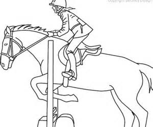 Horse Jumping Coloring Pages at GetColorings.com | Free ...