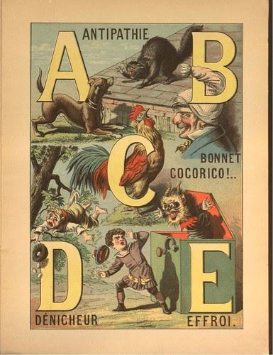 Grand Alphabet Amusant (Morel) ABCDE