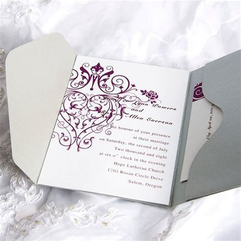Blank Wedding Invitations Kits