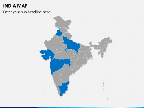 Editable India Map for PowerPoint   SketchBubble