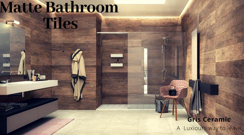 Matte tiles in trends over Glossy Bathroom Tiles - Gris ...