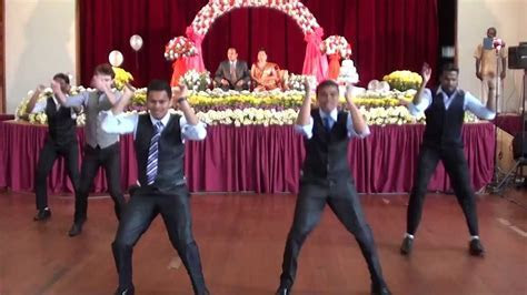 Surprise Indian Wedding Anniversary dance with white guy