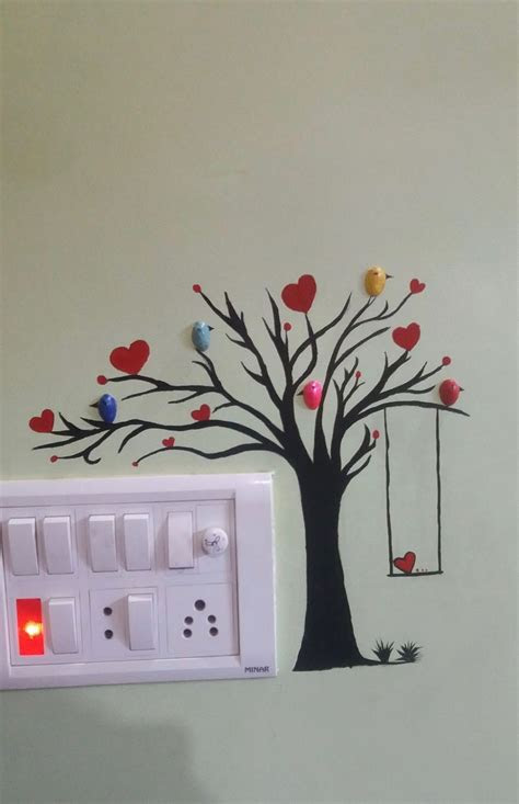 wall art wall art   diy wall painting diy wall