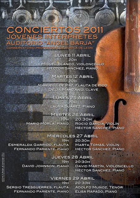 CICLO JÓVENES INTÉRPRETES 2011 - CONSERVATORIO DE LEÓN